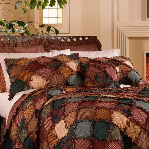 Campfire 3-Piece Cotton Quilt Set [Luxury comforter Sets] [by Latest Bedding]