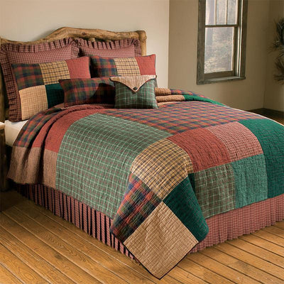 Campfire Square 3-Piece Cotton Quilt Set Quilt Sets By Donna Sharp