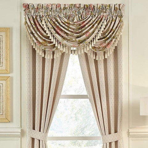 Carlotta Multi Window Valance By Croscill [Luxury comforter Sets] [by Latest Bedding]