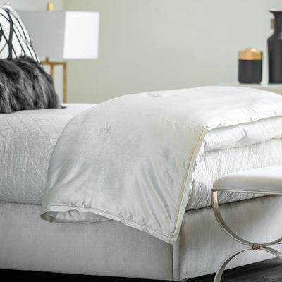 Lili Alessandra Chloe Ivory Comfortlet [Luxury comforter Sets] [by Latest Bedding]