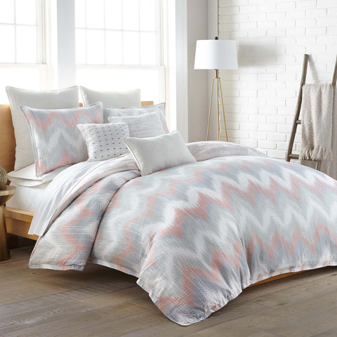 Clapton Multi 3-Piece Comforter Set [Luxury comforter Sets] [by Latest Bedding]