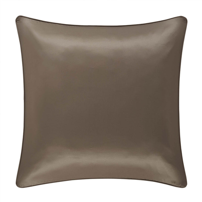 Cracked Taupe Ice Euro Sham [Luxury comforter Sets] [by Latest Bedding]