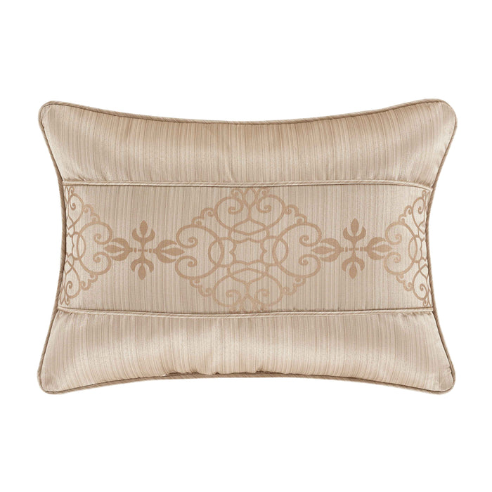 Cresmont Gold Boudoir Decorative Throw Pillow