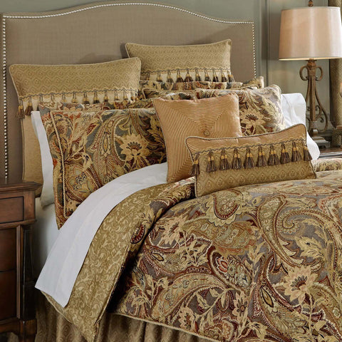 Comforter Sets Croscill Ashton Multi 4-Piece Comforter Set [Luxury comforter Sets) ( by Latest Bedding)]