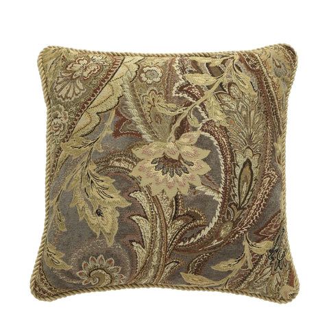 Ashton Multi Square Pillow By Croscill [Luxury comforter Sets] [by Latest Bedding]