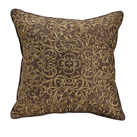 Throw Pillows Croscill Bradney Red Fashion Pillow [Luxury comforter Sets) ( by Latest Bedding)]