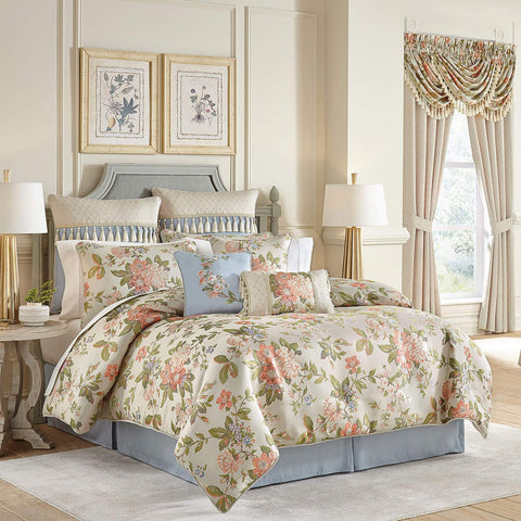 Carlotta Multi 4-Piece Comforter Set By Croscill [Luxury comforter Sets] [by Latest Bedding]
