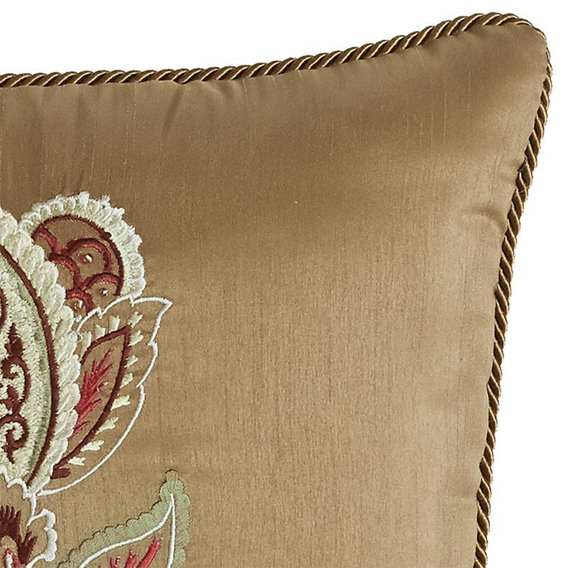 Esmeralda Bordeaux Fashion Pillow By Croscill [Luxury comforter Sets] [by Latest Bedding]