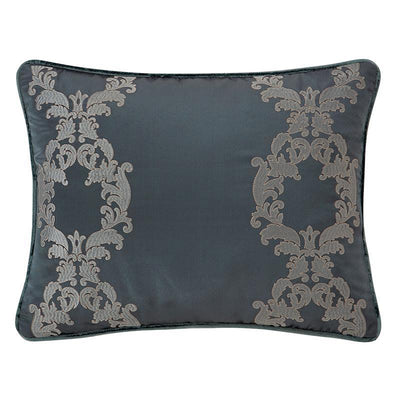 "Everett Teal Decorative Pillow 20"" x 16"" [Luxury comforter Sets] [by Latest Bedding]"