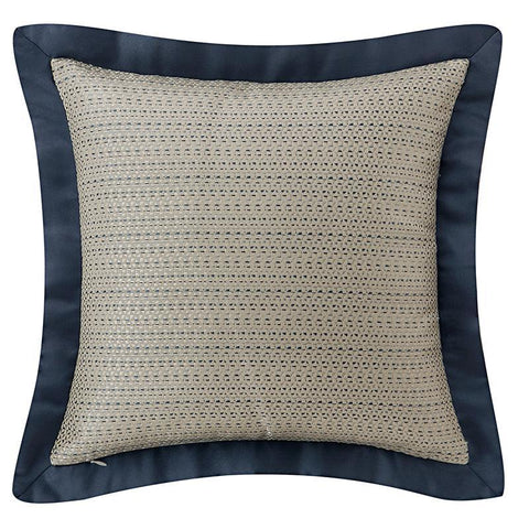 "Pillows Everett Teal Decorative Pillow 18"" x 18"" by Waterford Latest Bedding"