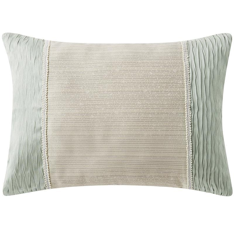 "Daphne Jade Jacquard Decorative Pillow 16"" x 20"" [Luxury comforter Sets] [by Latest Bedding]"