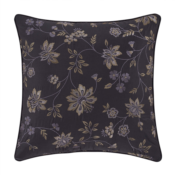 "Delilah Indigo Square Decorative Throw Pillow 20"" x 20"""