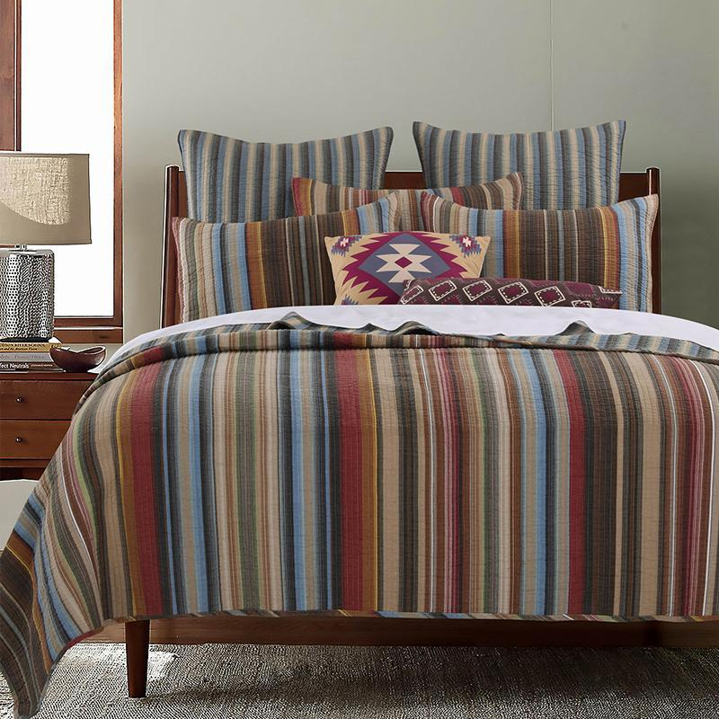 Quilt Sets Durango Multi 5-Piece Bonus Quilt Set Latest Bedding
