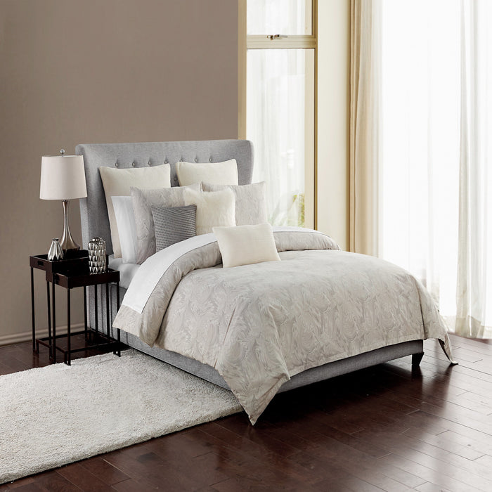 Esme Dove 3-Piece Comforter Set