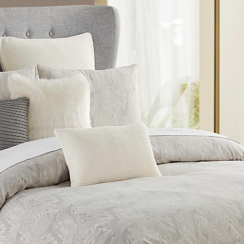 Esme Dove 3-Piece Comforter Set [Luxury comforter Sets] [by Latest Bedding]