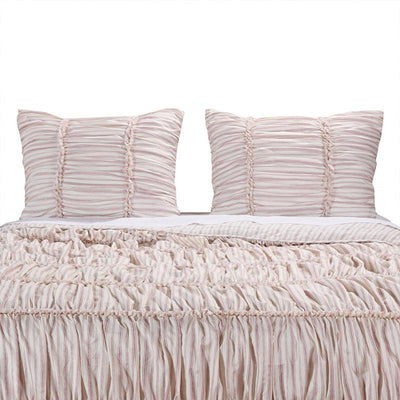 Farmhouse Chic Red Sham [Luxury comforter Sets] [by Latest Bedding]