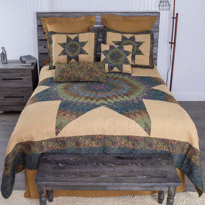 Forest Star 3-Piece Quilt Set Quilt Sets By Donna Sharp