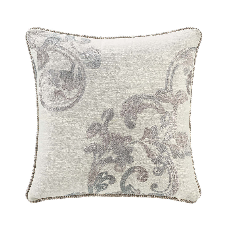 "Forli Sea Mist Decorative Throw Pillow 16"" x 16"" [Luxury comforter Sets] [by Latest Bedding]"