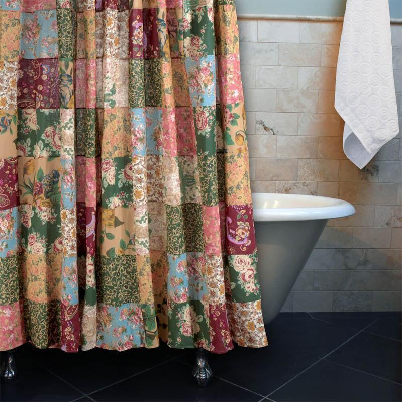 Shower Curtain Antique Chic Multi Bath Shower Curtain Latest Bedding
