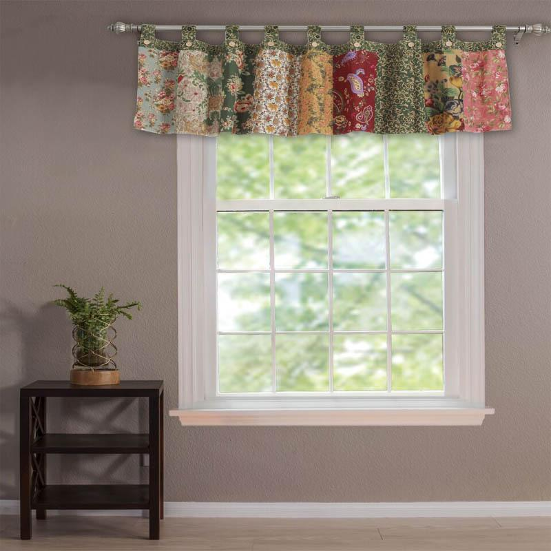 Valance Antique Chic Multi Window Valance Latest Bedding