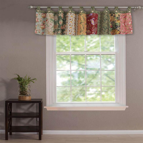 Antique Chic Floral Valance