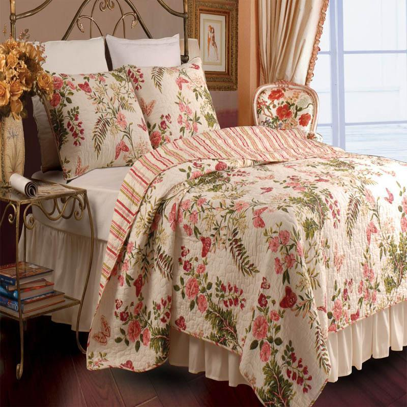 Quilt Sets Butterflies Multi 3-Piece Quilt Set Latest Bedding