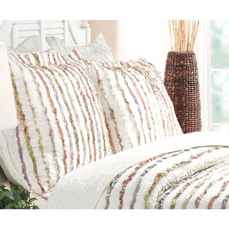 Bella Ruffle Multi Sham [Luxury comforter Sets] [by Latest Bedding]