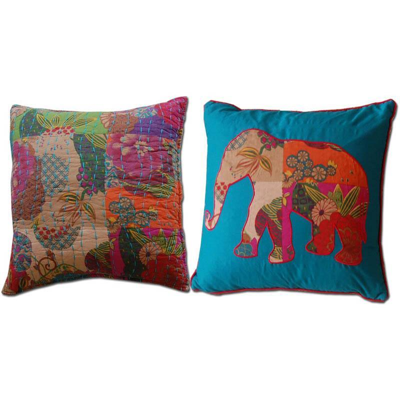 Jewel 2 Piece Cotton Throw Pillow Set