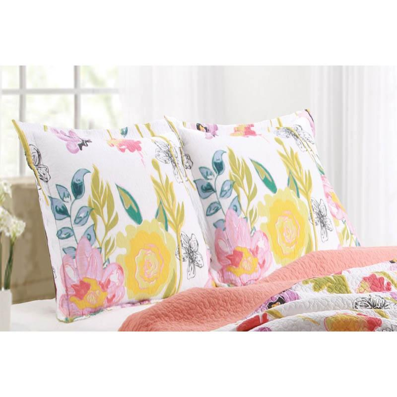 Watercolor Dream Multi Sham [Luxury comforter Sets] [by Latest Bedding]