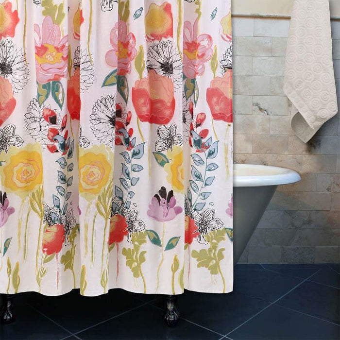 Watercolor Dream Multi Bath Shower Curtain