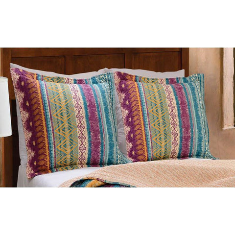 Sham Southwest Multi Sham Latest Bedding