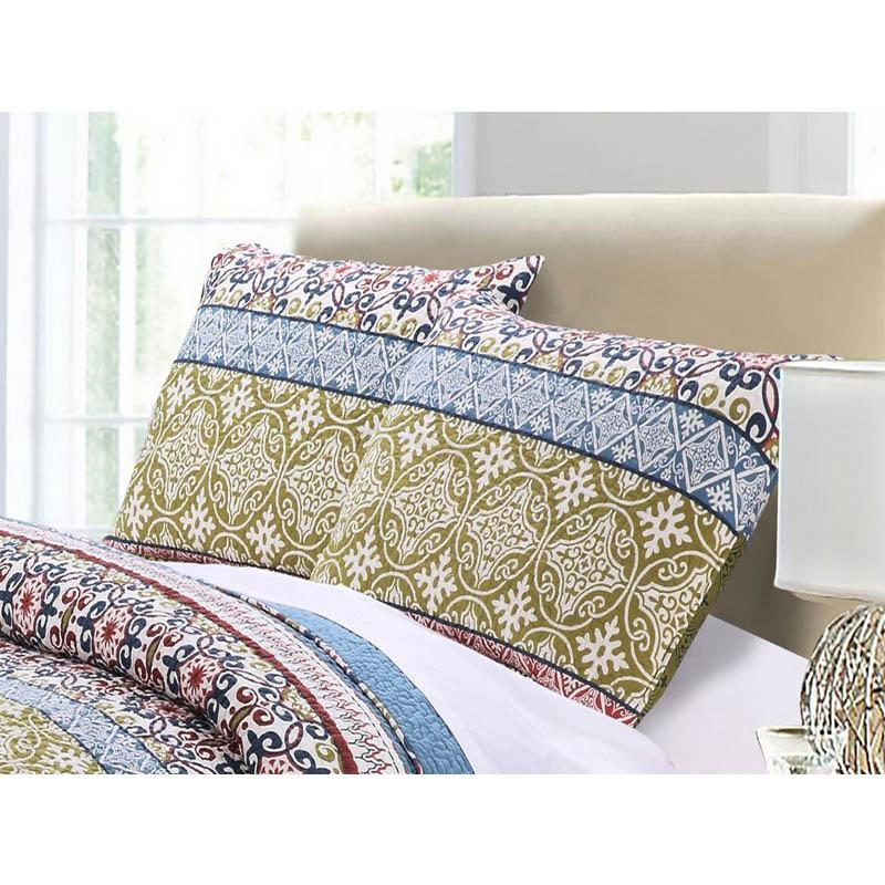 Shangri-La Multi Sham Sham By Greenland Home Fashions