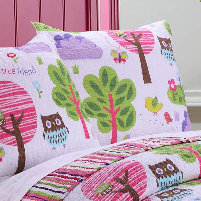 Woodland Girl Multi Sham [Luxury comforter Sets] [by Latest Bedding]