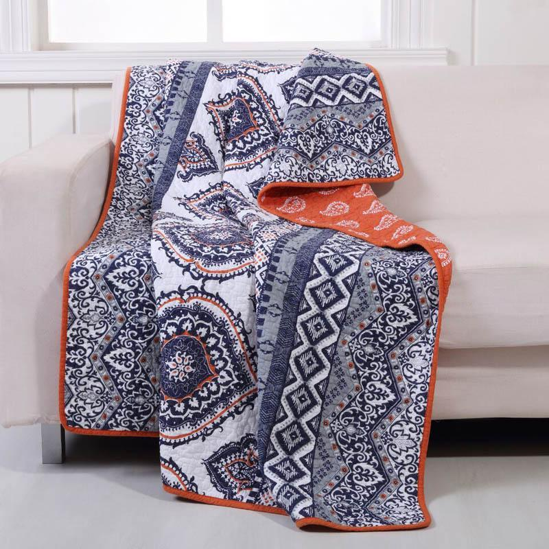 Throws Medina Saffron Throw Latest Bedding
