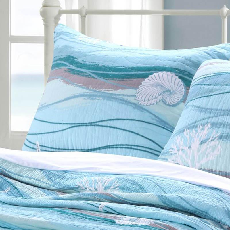 Sham Maui Beach Life Sham - 100% Cotton Latest Bedding