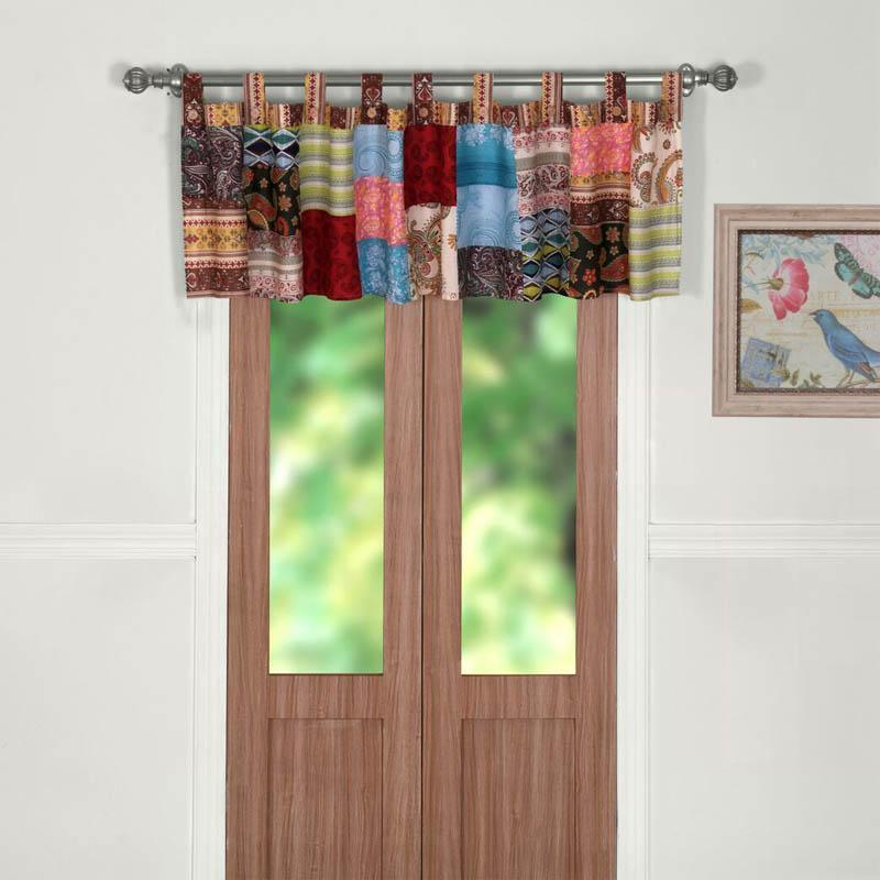 Bohemian Dream Patchwork Valance