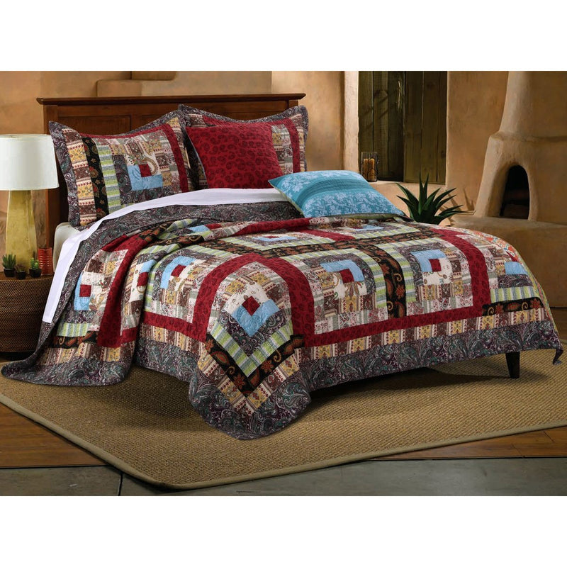 Quilt Sets Colorado Lodge Multi Bonus Set, 5-Piece Latest Bedding
