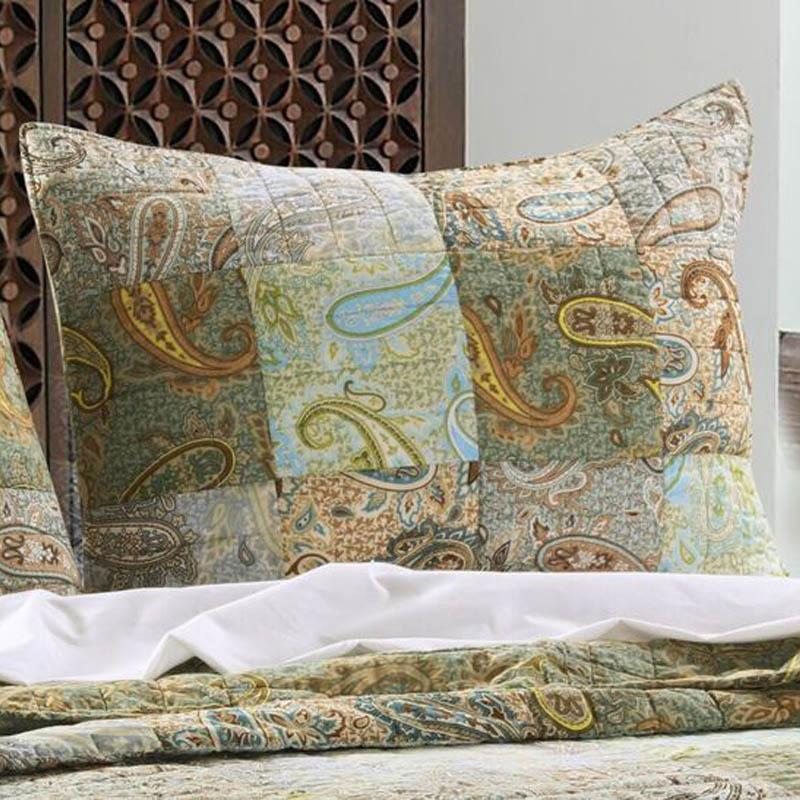 Paisley Dream Multi Sham [Luxury comforter Sets] [by Latest Bedding]