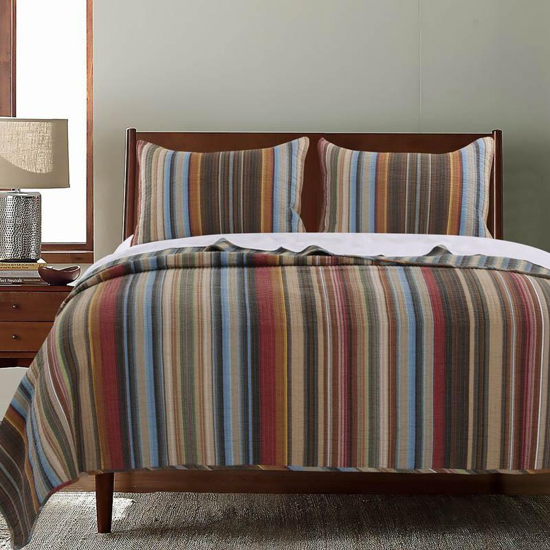 Quilt Sets Durango Multi 3-Piece Quilt Set Latest Bedding