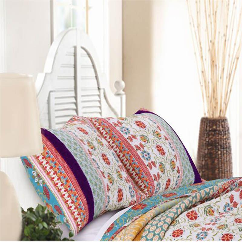 Sham Thalia Geometric Floral Sham - Poly/Cotton Latest Bedding