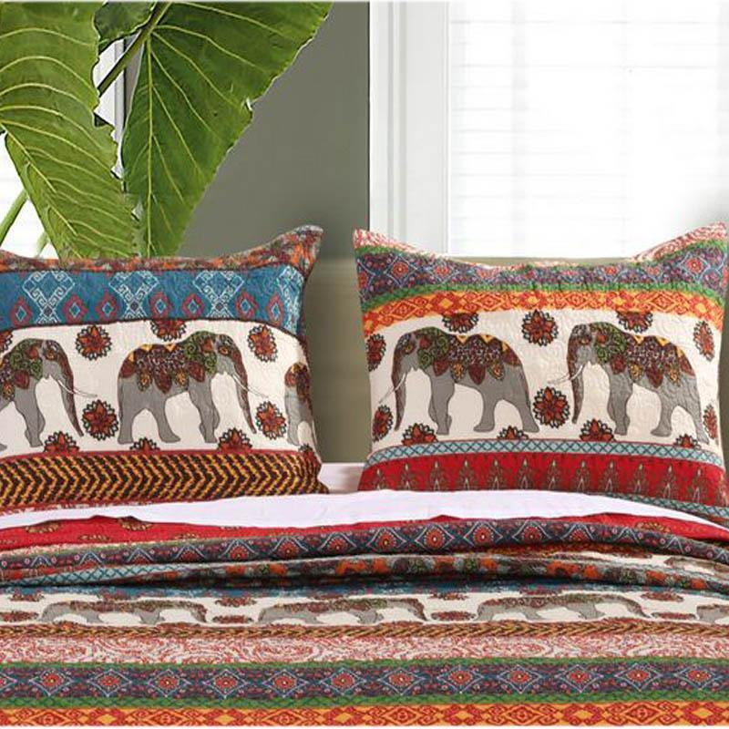 Sham Barefoot Bungalow Kandula Sham by Greenland Home Fashions Multicolor Cotton Rich Latest Bedding