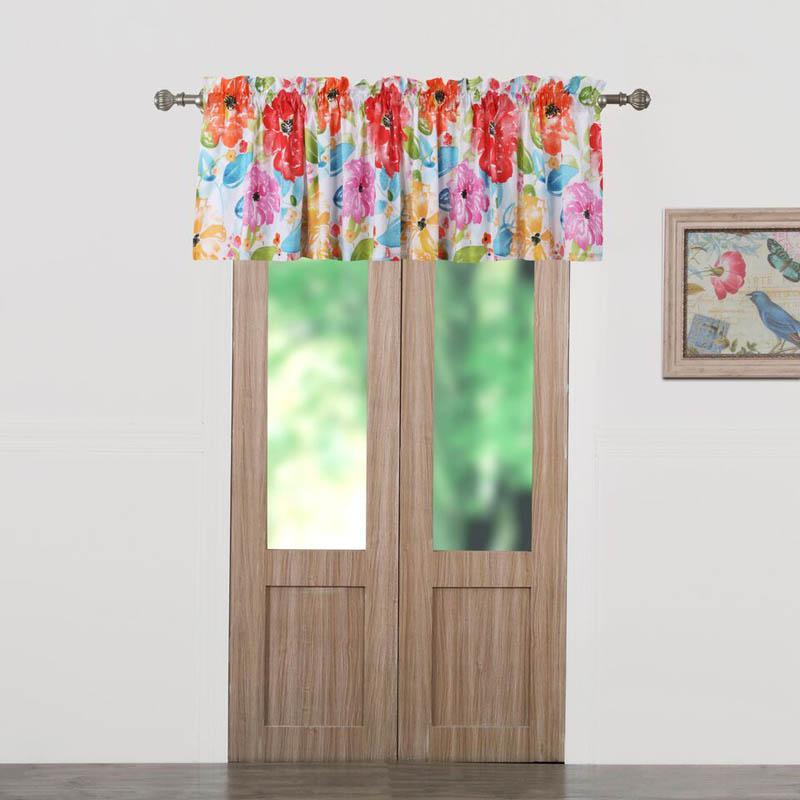 Valance Barefoot Bungalow Esme Window Valance Latest Bedding