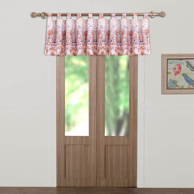 Amber Multi Window Valance Window Valance By Greenland Home Fashions