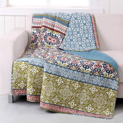 Shangri-La Multi Throw Throws By Greenland Home Fashions