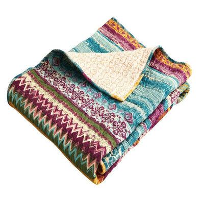 Southwest Multi Throw Throws By Greenland Home Fashions