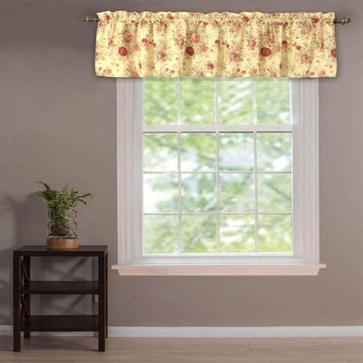 Antique Rose Multi Window Valance Window Valance By Greenland Home Fashions