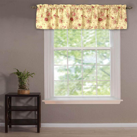 Valance Antique Rose Multi Window Valance Latest Bedding