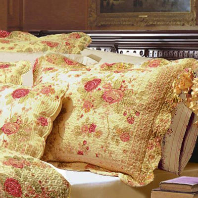 Antique Rose Multi Sham [Luxury comforter Sets] [by Latest Bedding]