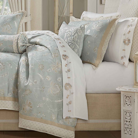 Garden View SPA 4-Piece Comforter Set [Luxury comforter Sets] [by Latest Bedding]
