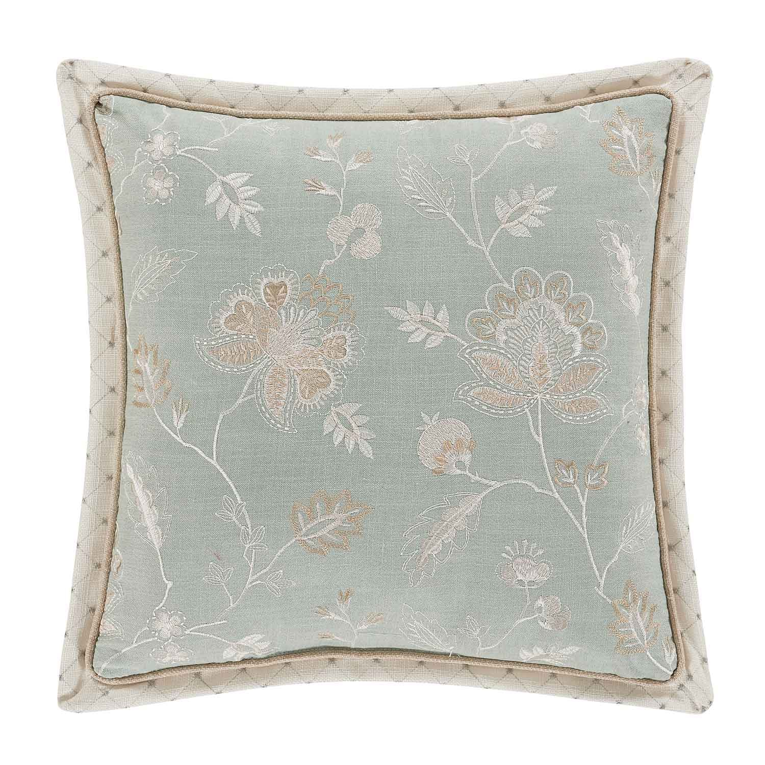 "Garden View SPA Square Decorative Throw Pillow 18""W x 18""L"" [Luxury comforter Sets] [by Latest Bedding]"